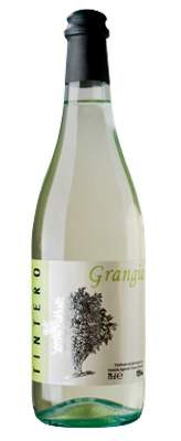 Tintero Grangia white bottle