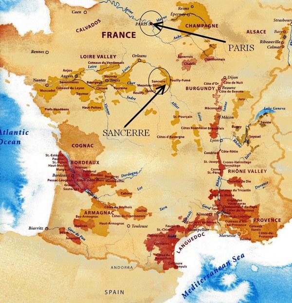 Sancerre France Map.Chips West Concord Liquors